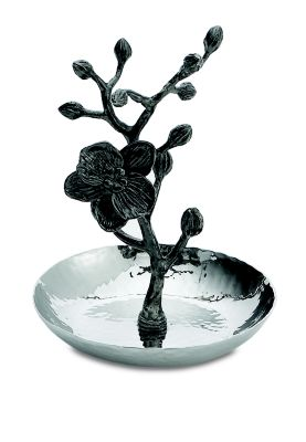MICHAEL ARAM Black Orchid Ring Catch in No Color