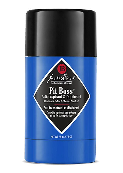 Image of Pit Boss Antiperspirant and Deodorant. An invisible solid stick antiperspirant and deodorant that offers superior protection from odor and wetness in a gentle, non-irritating formula. Invisible solid glides on easily, leaving no trace of residue on skin o