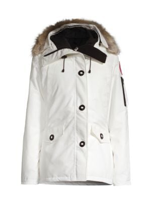 Montebello Fur-Trimmed Down Parka plus size,  plus size fashion plus size appare