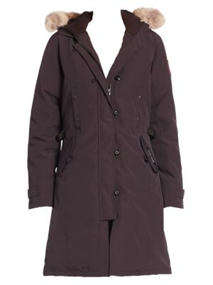Fur-Trimmed Kensington Down Parka plus size,  plus size fashion plus size appare