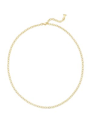 Temple St Clair 18k Yellow Gold Extra Small Oval Link Necklace Chain 18 Quot