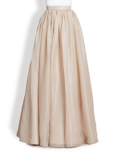 Abella Silk Chiffon Ball Gown Skirt