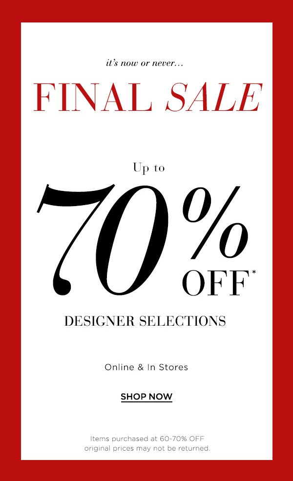 173f5498b65 ▷ Your attention, please: Up to 70% off designer selections + Ready ...