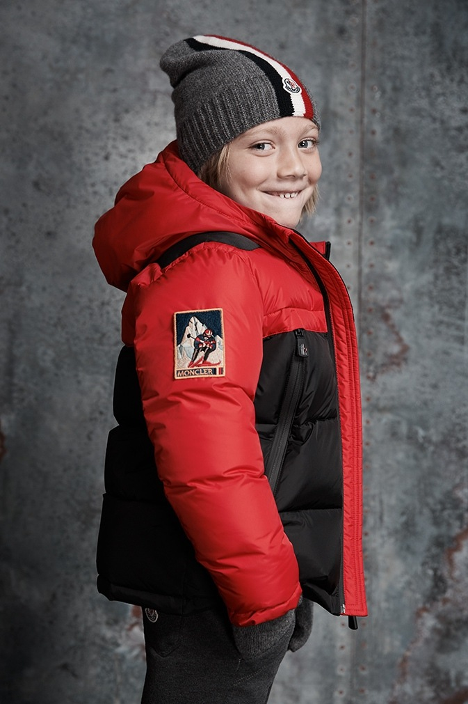 Moncler kids puffer jackets, yeti sweatshirts and wool beanies at saks.com.
