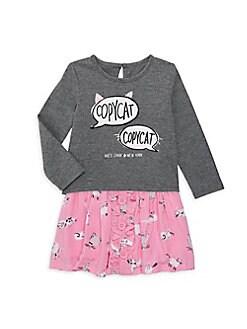2350a09c1edb QUICK VIEW. Kate Spade New York. Baby Girl s Copy Cat 2-Piece Top   Skirt  Set