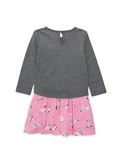 7f926f608 ... Kate Spade New York Baby Girl's Copy Cat 2-Piece Top & Skirt Set