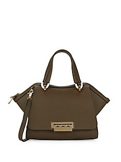 68eebd590a69 Small Eartha Leather Tote Crossbody Bag GREEN. QUICK VIEW. Product image