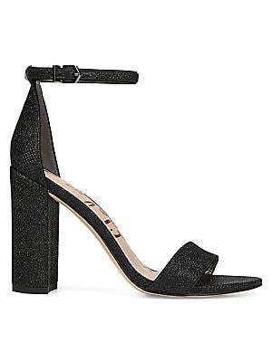 34cc2e409598 Sam Edelman - Orient Express Yaro Leather Ankle-Strap Sandals