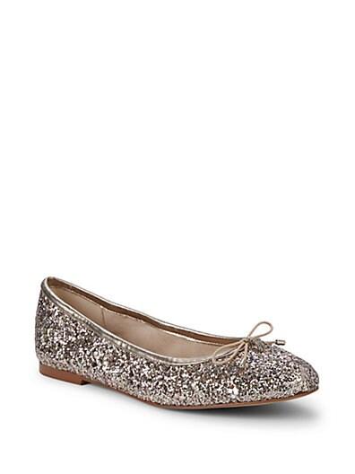 1001ce39bbeb Sam Edelman Felicia Glitter Ballet Flats ...