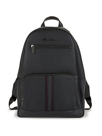 Robert Graham Logo Faux Leather Backpack ... d09255dc2bbf2