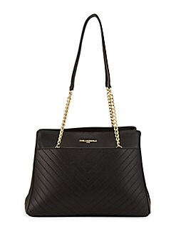 182e08d944 QUICK VIEW. Karl Lagerfeld Paris. Quilted Leather Chain Tote