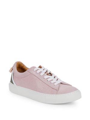 Buscemi Glitter Suede Low-Top Sneakers