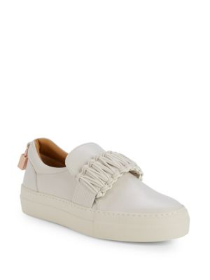 Buscemi UNISEX BRAID CUFF SLIP-ON SNEAKERS