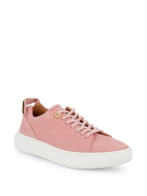 Buscemi Lace-Up Leather Sneakers