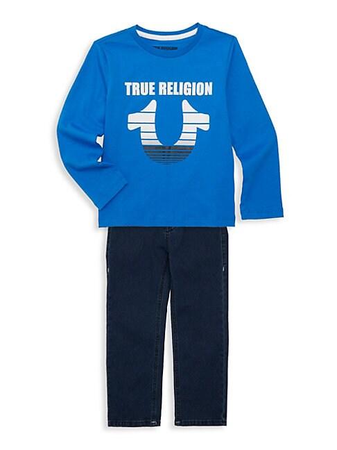 Little Boys 2Piece Top  Jeans Set