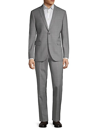 5aba3285 Designer Men's Suits | Armani, Versace & More | Saks OFF 5TH