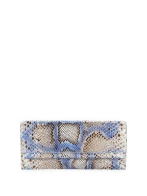 Nancy Gonzalez Python Clutch Bag