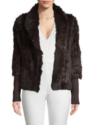 Love Token  Rabbit Fur Jacket