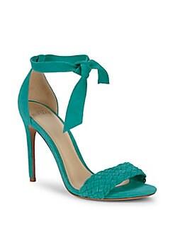 21bee27903c8 QUICK VIEW. Alexandre Birman. Textured Suede Stiletto Sandals