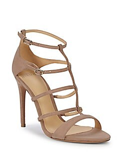 3b21f18d391 Product image. QUICK VIEW. Alexandre Birman. Ivanna Suede Caged Sandals