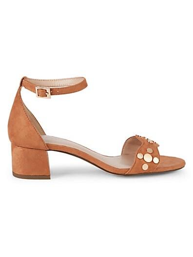 f5217966fc8f BCBGeneration Fifi Studded Block Heel Sandals ...