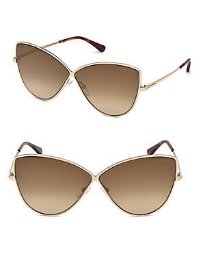 77ab1eeae60 Tom Ford - Elise Cat Eye Sunglasses - saksoff5th.com