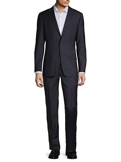 23898dccd Designer Men's Suits | Armani, Versace & More | Saks OFF 5TH