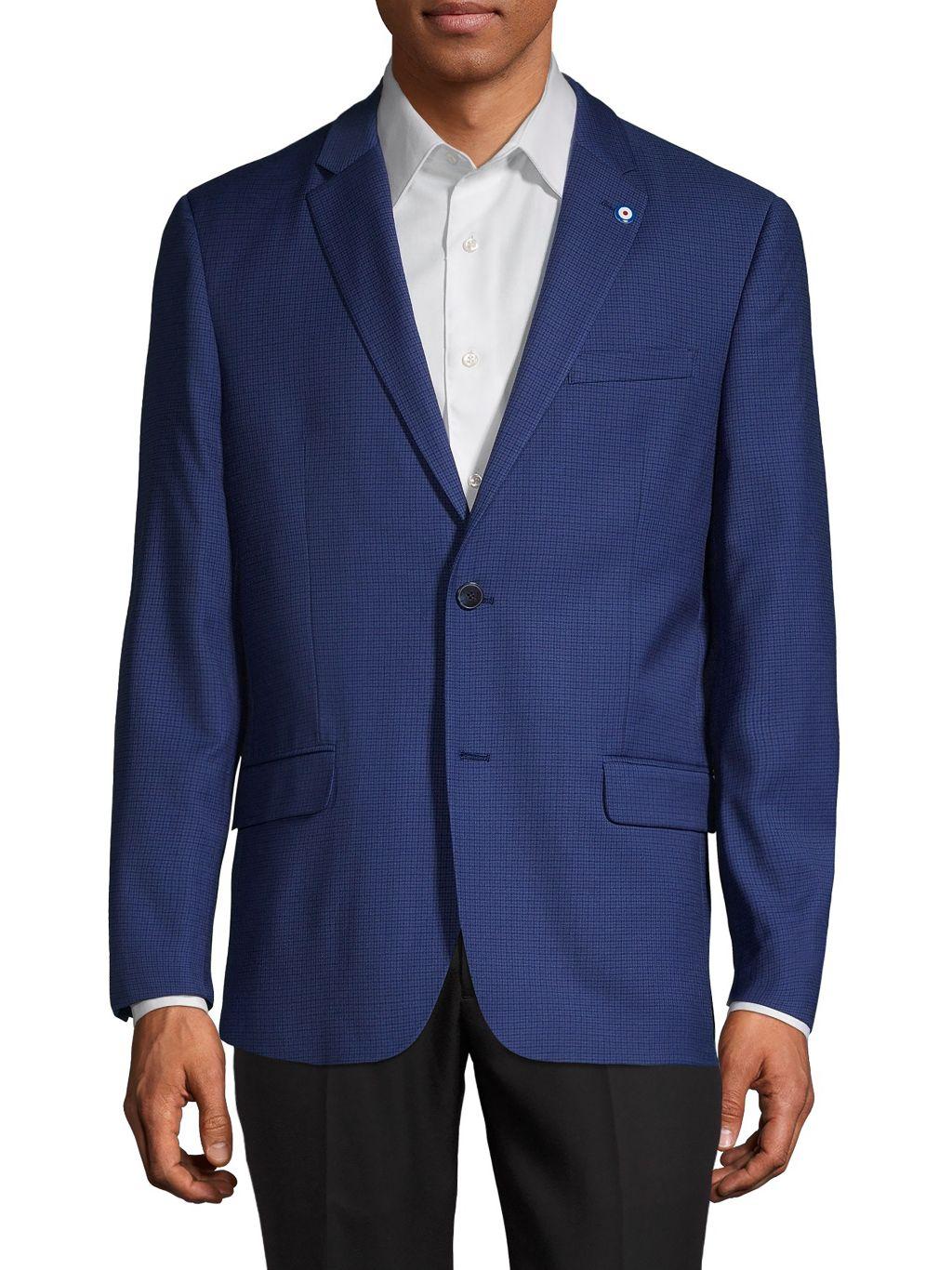 Ben Sherman Checkered Sportcoat