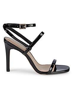 509bc869fae BCBGeneration. Ivanna Patent Stack Heel Sandals