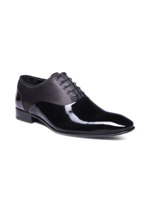 Jared Lang  Marco Two-Tone Leather Oxfords