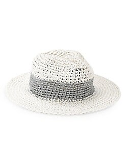 926e561e71d13 Colorblock Sun Hat WHITE. QUICK VIEW. Product image