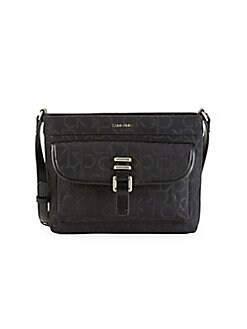 c7da7b601841 QUICK VIEW. Calvin Klein. Buckle Nylon Messenger Bag