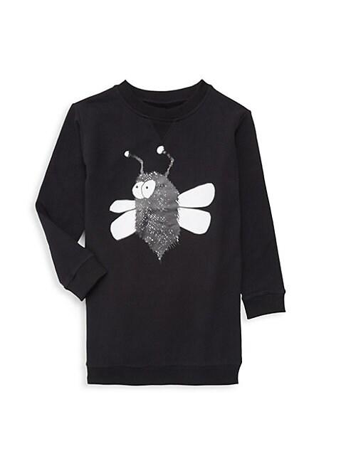 Baby Boys Little Boys  Boys Longline Bug Graphic Sweater