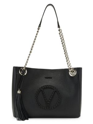 Valentino By Mario Valentino Totes Luisa Studded Leather Tote