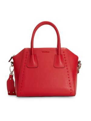 Valentino By Mario Valentino Bags Minimi Leather Top Handle Satchel