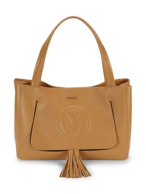 Valentino By Mario Valentino Totes OLLIE LEATHER TASSEL TOTE