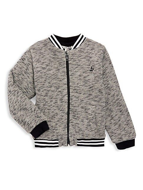 Litte Girls  Girls Graphic Bomber Jacket