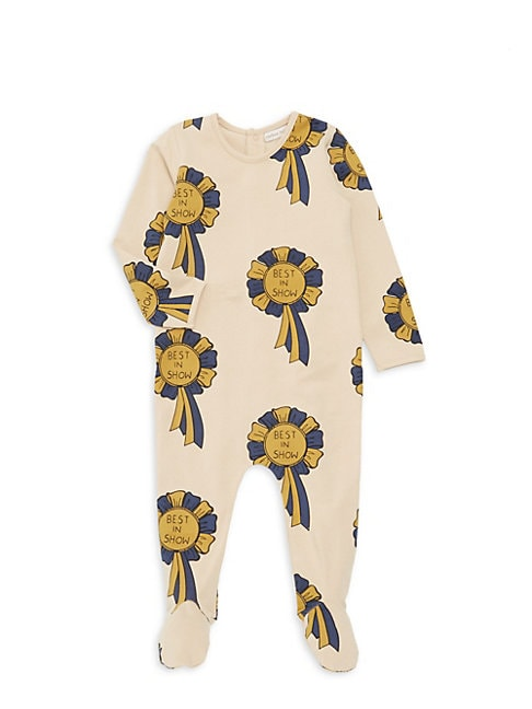 CARBON SOLDIER | Baby Girl's Rocky Mountain Ribbon Print Romper | Goxip