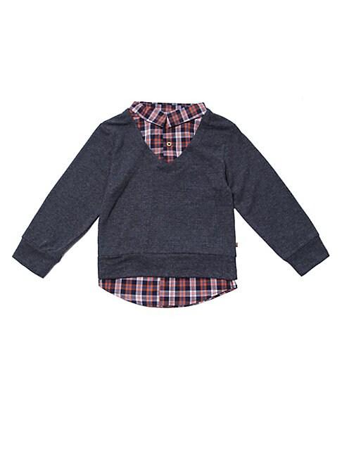 Baby Boys Little Boys  Boys Twofer Layered Shirt
