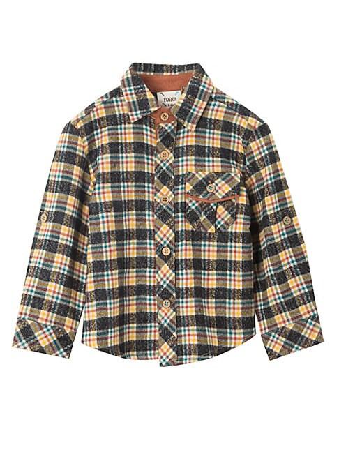 Baby Boys Little Boys  Boys MultiPlaid Shirt