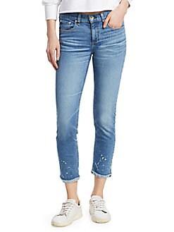ec84854ef55b8 QUICK VIEW. Rag   Bone. Dre Ankle Medium Wash Split Jeans