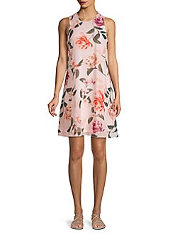 Product image. QUICK VIEW. Calvin Klein. Floral Sleeveless Shift Dress