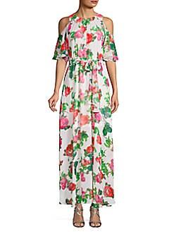 183e2506d34b02 QUICK VIEW. Calvin Klein. Floral Maxi Dress