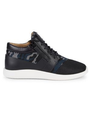 Giuseppe Zanotti Sneakers Camouflage Lace-Up Sneakers
