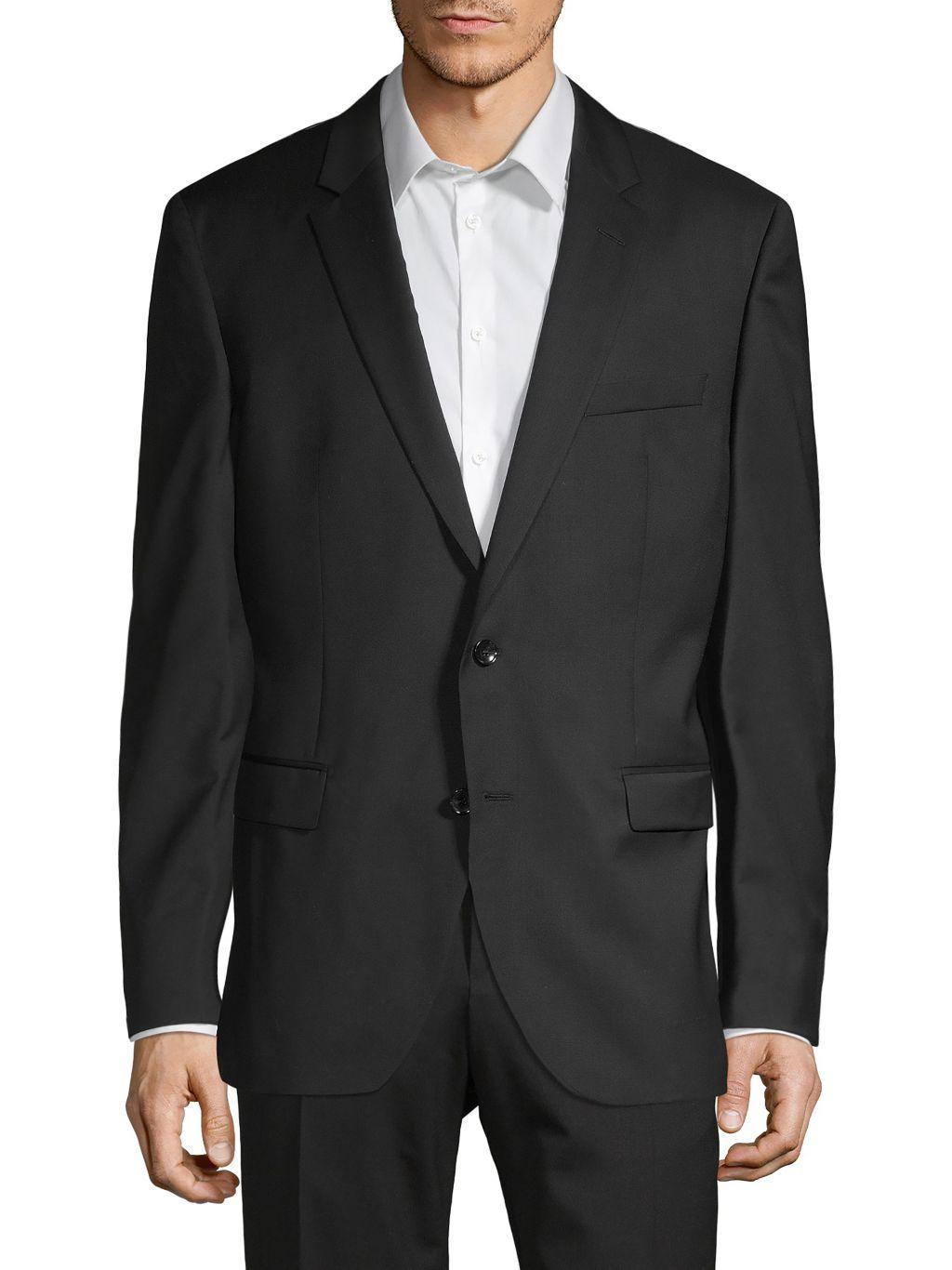 Boss Hugo Boss Tailored-Fit Virgin Wool Sport Jacket