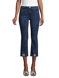 fd1c179a2086 Selena Mid-Rise Cropped Bootcut Jeans BLUE. QUICK VIEW. Product image.  QUICK VIEW. J Brand