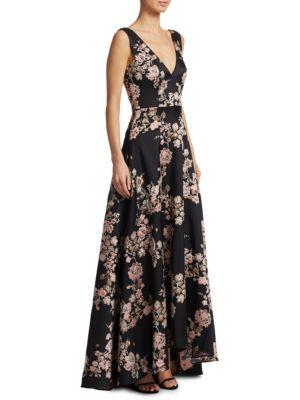 Ml Monique Lhuillier Tops Floral Ball Gown
