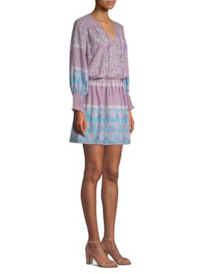 Shoshanna Dresses Boho Floral-Print Torrance Dress