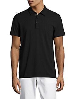 78afcd89 Michael Kors. Bryant Polo Shirt. $79.50$39.99. (49% Off). Black; Midnight;  White