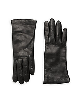 5c334409e34f2 Leather Gloves BLACK. QUICK VIEW. Product image